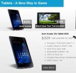 GameStop tablets