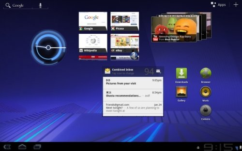 Android 3.2 Honeycomb update for the Dell Streak 7 - Liliputing