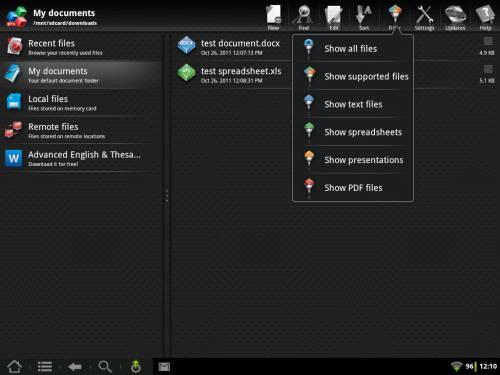 OfficeSuite Pro 5