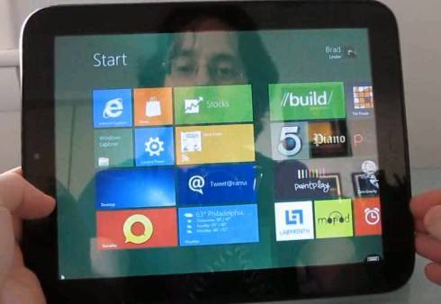 Windows 8 on the HP TouchPad (with SplashTop Remote)