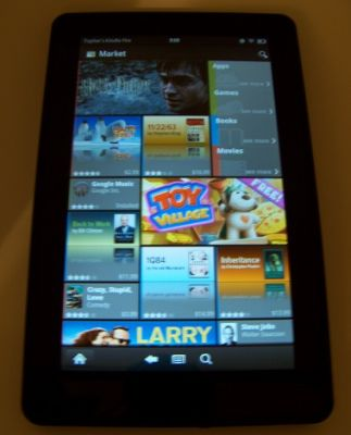 Amazon Kindle Fire with Android Market