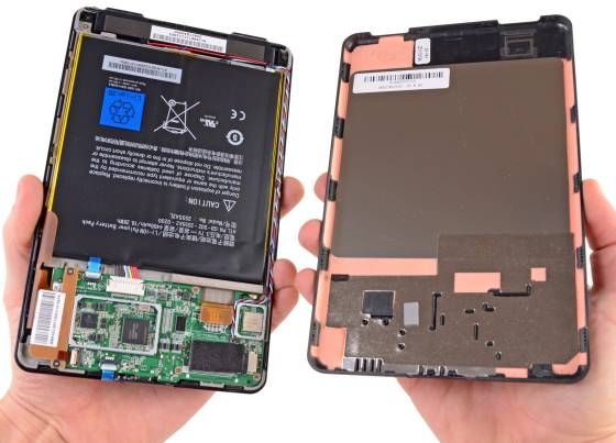 Amazon Kindle Fire dissected