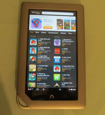 how to  free apps to my nook color