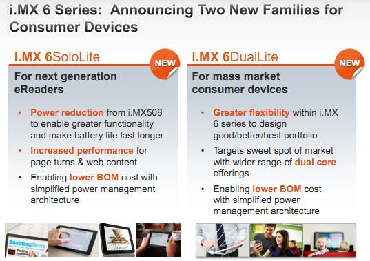 Freescale i.MX6 new