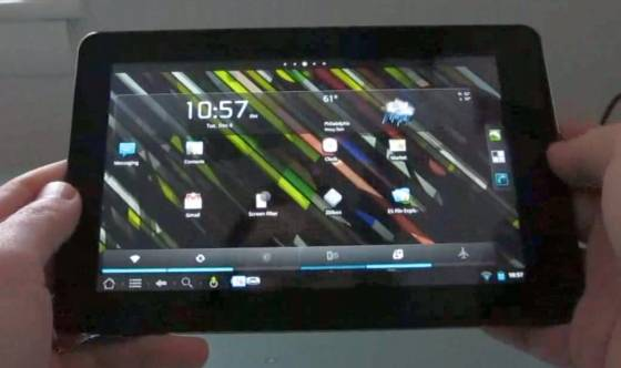 Amazon Kindle Fire running CyanogenMod 7