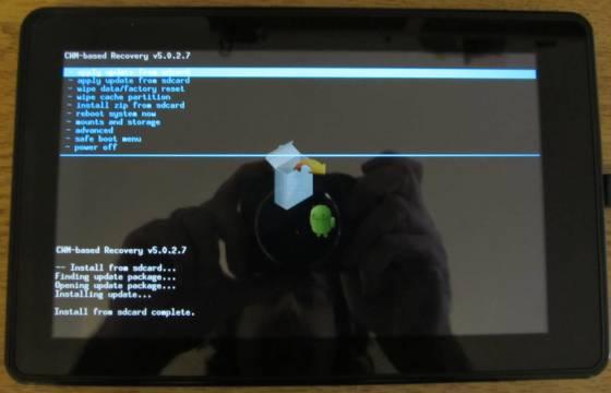 How to install CyanogenMod 7 on the Amazon Kindle Fire - Liliputing
