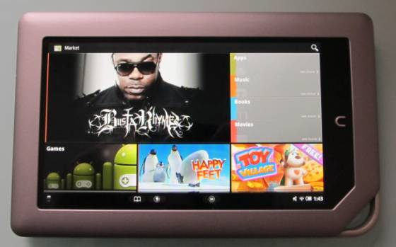 Rooted NOOK Tablet