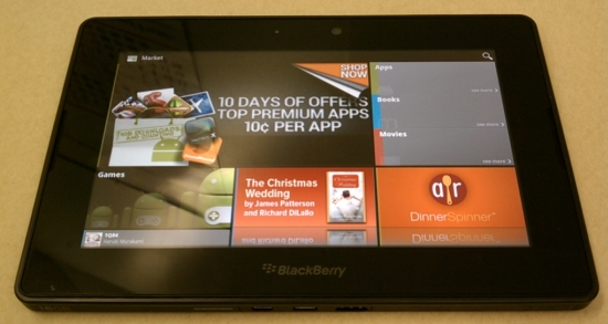 Install Android Market on BlackBerry PlayBook - Liliputing