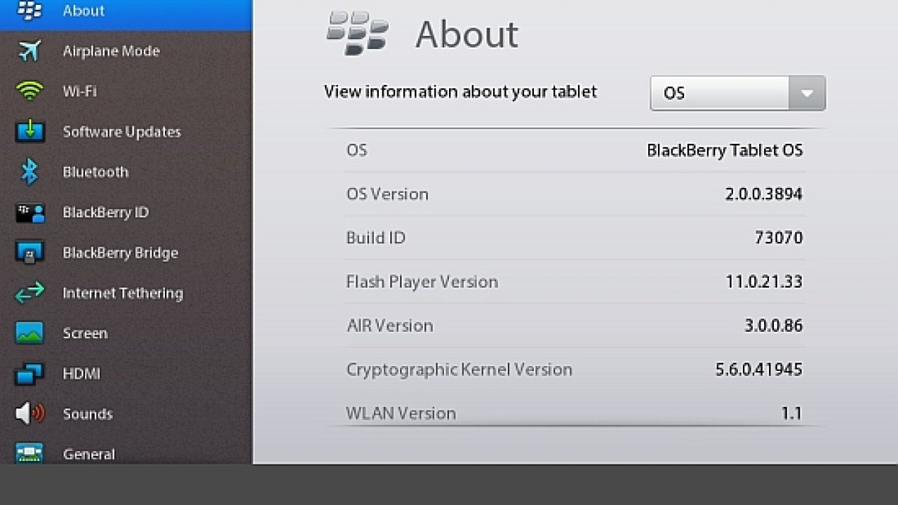 How to install PlayBook OS 2 0 Beta - Liliputing