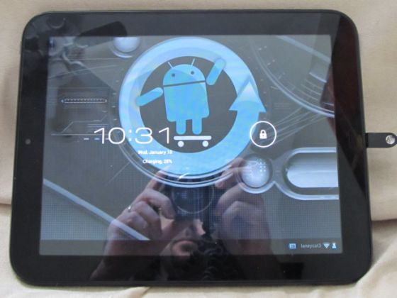 CyanogenMod 9 on the HP TouchPad