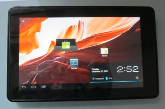 Amazon Kindle Fire with Android 4.0