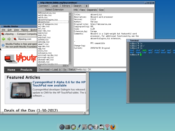 Tiny Core Linux 4.2 is a compl...