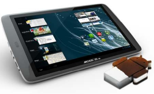 Archos G9 with Android 4.0