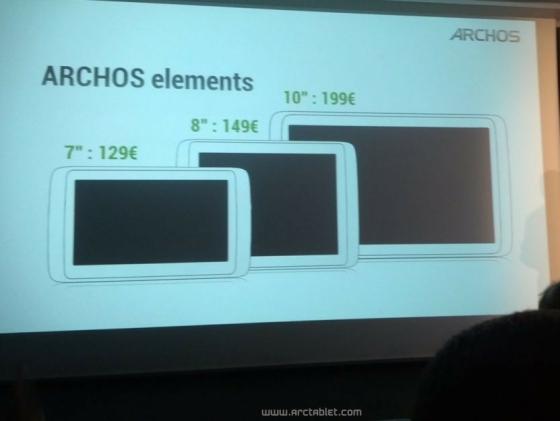 Archos Elements