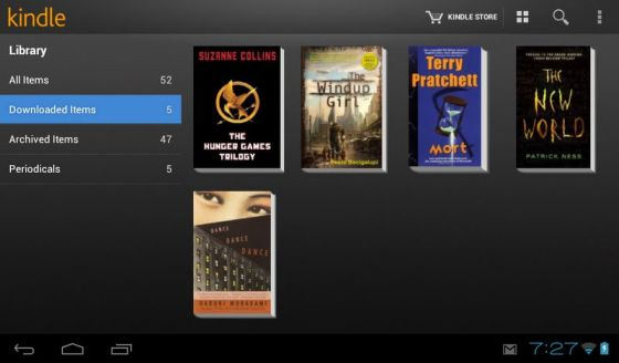 Kindle app now turns any Android tablet into a Kindle Fire (almost