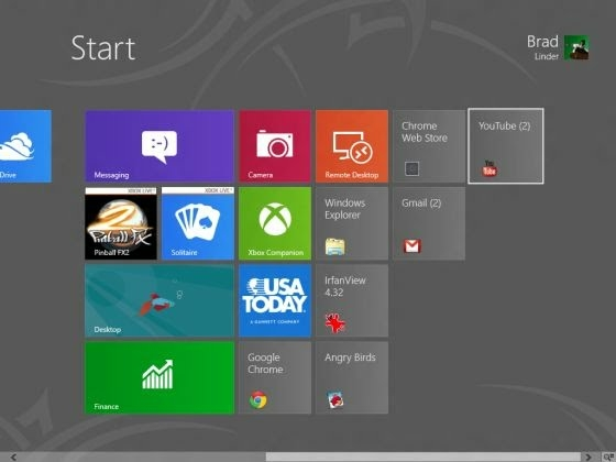 Chrome apps in Windows 8