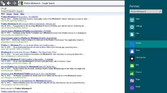 Firefox for Windows 8 Metro