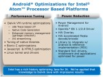 Intel Atom Android