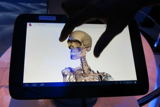 Lenovo Medfield tablet