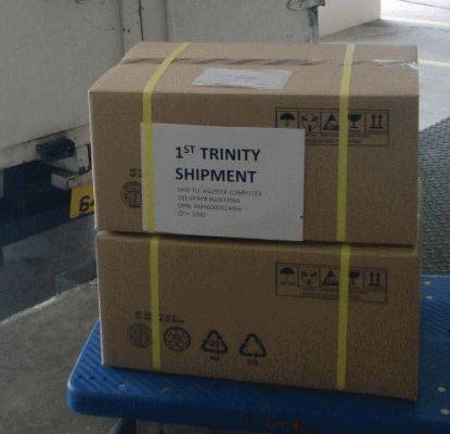 AMD Trinity shipment
