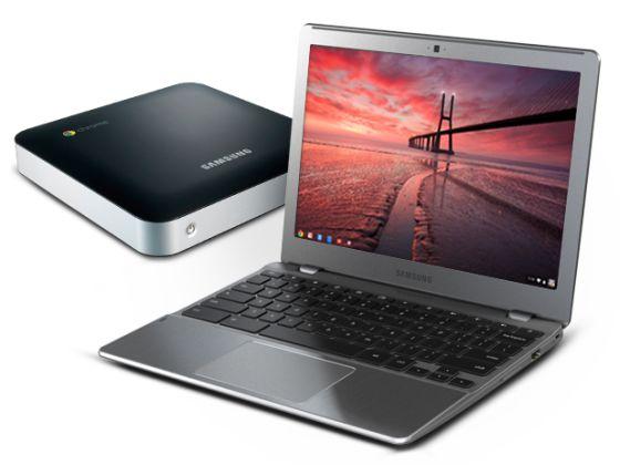 Chromebook and Chromebox