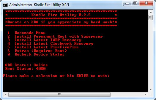 How to root a Kindle Fire with Software Version 6.3.1 (3/3)