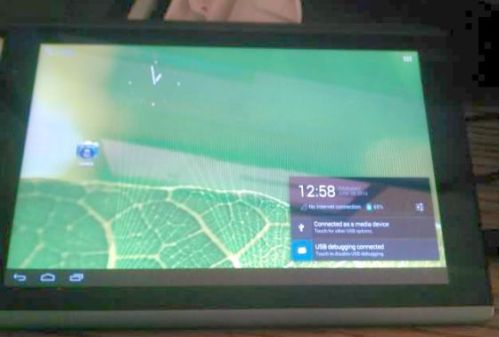 Acer Iconia Tab A500 with Android 4.1