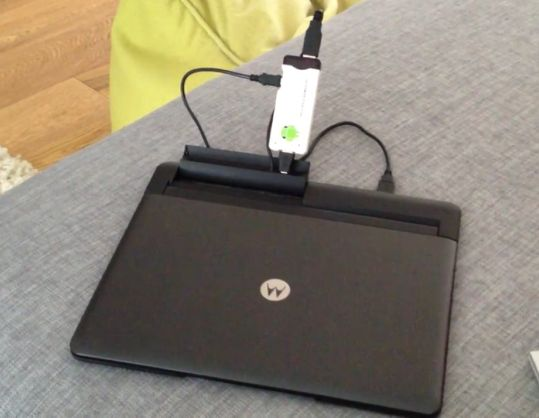 MK802 notebook