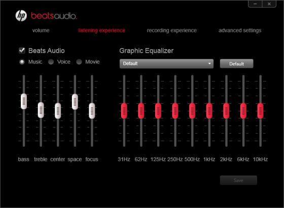 Beats Audio Hp Equalizer Settings