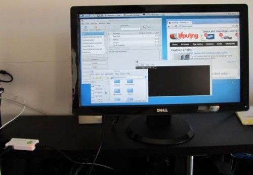 MK802 running Lubuntu