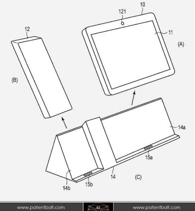 Toshiba patent reveals a tablet, dock, and handset