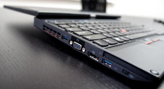 Lenovo ThinkPad X230T left side ports