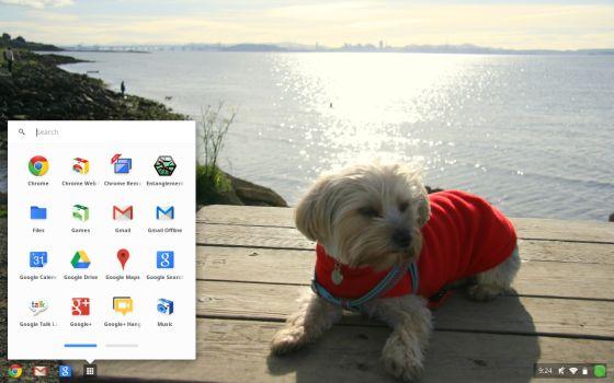 Google Chrome OS apps list