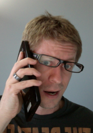Kevin Tofel tries to use the Galaxy Tab as a phone