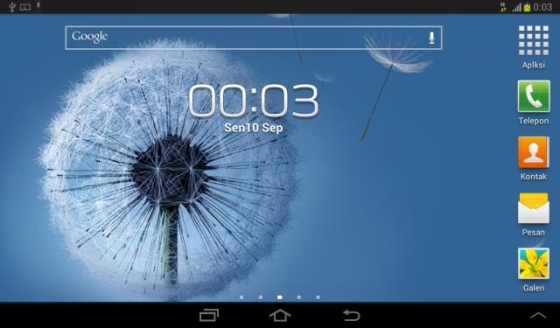 Samsung Galaxy Tab 2 with Android 4.1