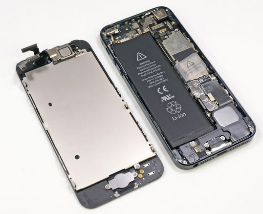 iPhone 5 dissected (iFixit)
