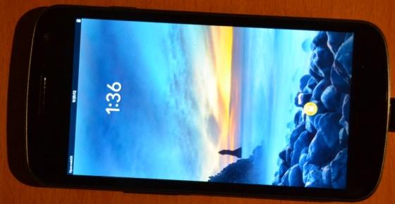 Samsung Galaxy Nexus with open webOS