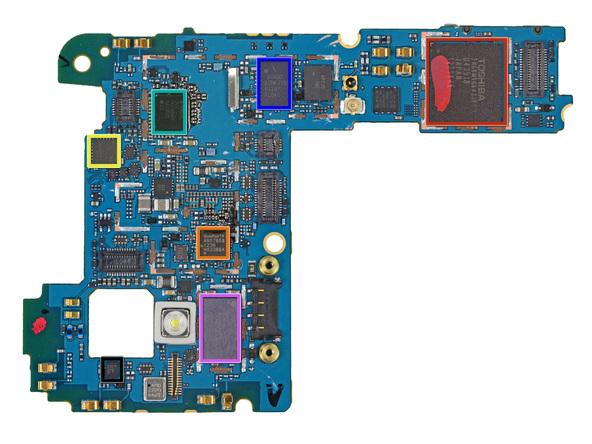 Nexus 4 motherboard