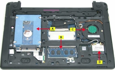Acer Aspire 756 upgrades