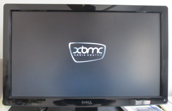 XBMC splash screen