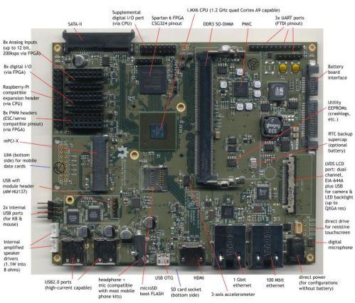Bunnie Huang open laptop board