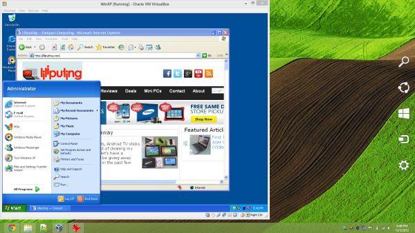Windows XP virtual