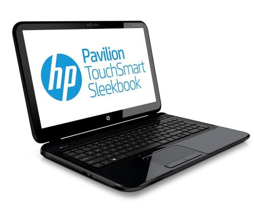HP Pavilion Touchsmart Sleekbook Left side