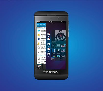 BlackBerry introduces the first BB10 phones: The BlackBerry