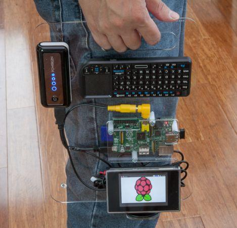 Raspberry Pi Portable (SK Pang)