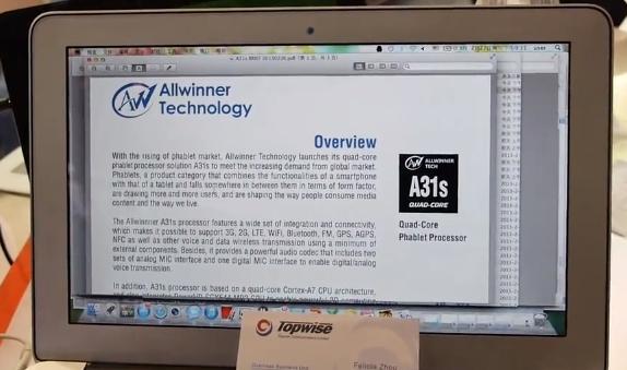 Allwinner A31s