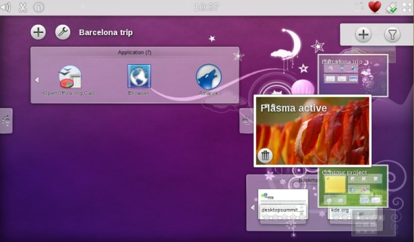 KDE Plasma Active
