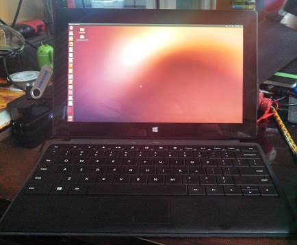 Microsoft Surface Pro with Ubuntu