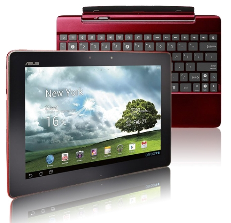 Asus Transformer Pad TF300T red