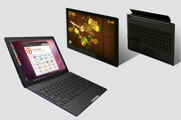 Ekoore Python S3 convertible tablet triple-boots Windows 8 ...